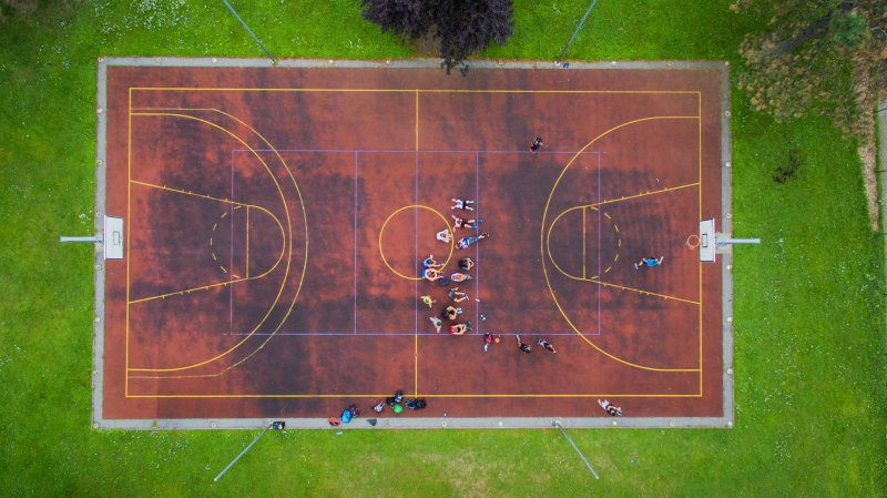 Jugendhotel Egger campo tennis