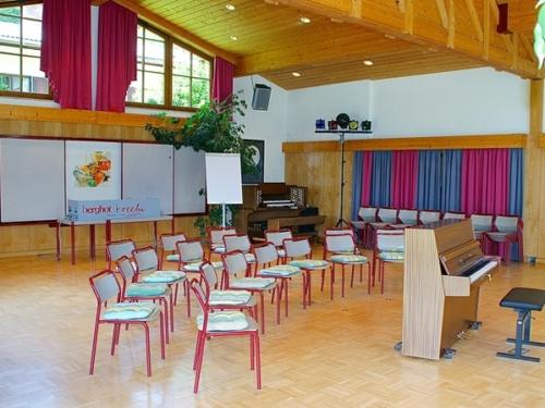 Pensione Berghof aula per lezione o giochi