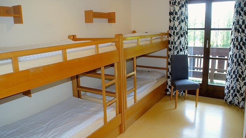 Pensione Berghof camera per alunni
