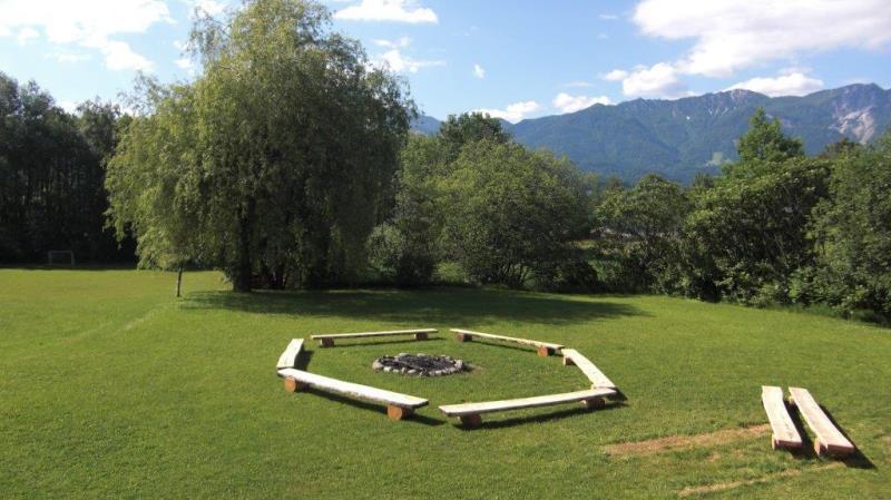Jugenderlebnishotel Drobollach giardino