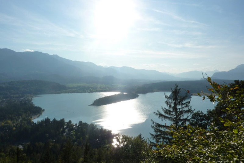 Jugenderlebnishotel Drobollach lago dal Taborhöhe