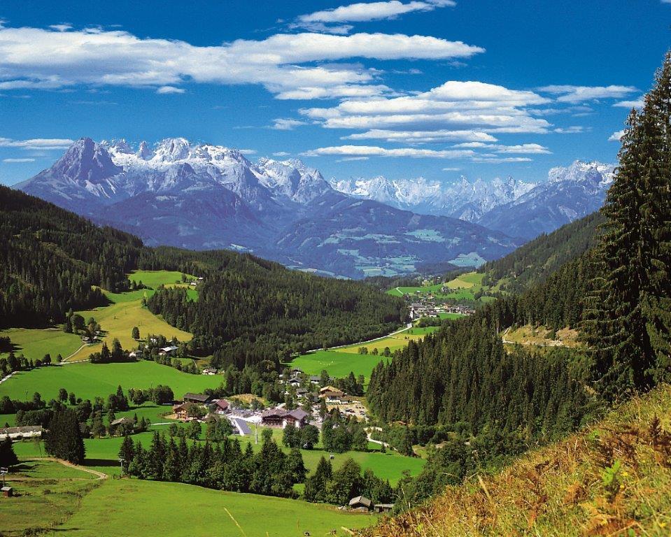Pensione Berghof paese Werfenweng
