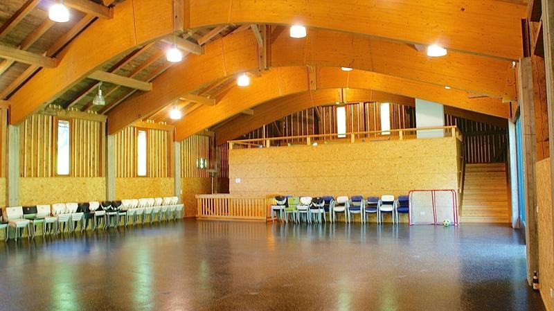 Pensione Berghof sala grande dependance